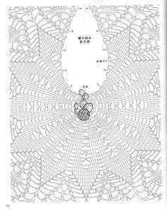 Crochet Skirts Crochet Top Crochet Clothes Pineapple Crochet Crochet Cardigan Hobbies And Crafts Amigurumi Crochet Patterns Elsa Crochet Flower Patterns, Crochet Doilies, Crochet Lace, Crochet Stars, Crochet Circles, Magazine Crochet, Diy Crafts Crochet, Popular Crochet, Pineapple Crochet