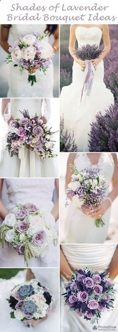 bridal bouquet purple 2019 Brides Favorite Purple Wedding Colors---diy bridal bouquets for garden wedding in spring summer and fall Purple Flower Bouquet, Purple Wedding Flowers, Bridal Flowers, Floral Wedding, Burgundy Wedding, Lavender Bouquet, Lavender Wedding Bouquets, Bridal Bouquet Diy, Lavender Weddings