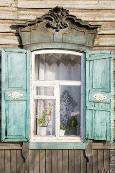 Деревянный наличник Иркутска №31