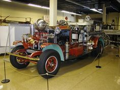 Firehouse Museum of Maryland  Adults $12, Children $5  Fire museum's premier collection contains 40 fire engines form 1806 to 1956, and 1871 fire house and alarm system. Children can climb on a 1938 engine.