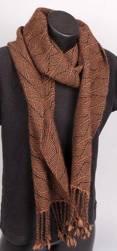 Alpaca Handwoven scarf by JointWorksStudio on Etsy, $100.00