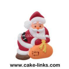 Flat icing Santa (sold individually)