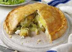 Recipe: Cyprus potato, olive and goat's cheese pie
