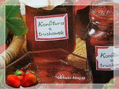 Babcia radzi coś...: Domowa konfitura z truskawek