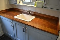 Custom Made Joinery Using Reclaimed Iroko, Sourced From Science Lab Worktops in Home, Furniture & DIY, DIY Materials, Timber & Composites, Timber | eBay