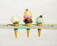 thiebaud ice cream | ice cream - Wayne Thiebaud