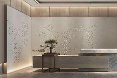 展厅设计 White Things white color for trim Lobby Interior, Office Interior Design, Office Interiors, Design Offices, Office Designs, Office Reception Design, Modern Reception Desk, Lobby Reception, Reception Counter