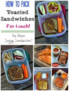 Lunch Made Easy: Packing Toasted Sandwiches for Lunch