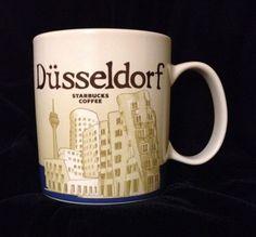 Starbucks Düsseldorf Mug Bridge Germany Global Icon US Ship #Starbucks