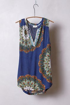 Split Image Top  #anthropologie Can't wait to get this and wear w/white jeans or shorts... <3