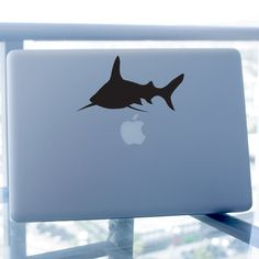 Shark Decal, For Car Windows, Laptops, Walls etc.. $5.95, via Etsy.