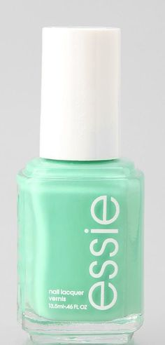 Now trending: Minty fresh nails #essie