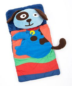 Loving this Dog Sleeping Bag & Pillow Set on #zulily! #zulilyfinds