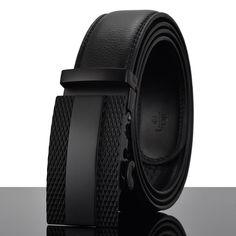 Fashion Designers Men Automatic Buckle Leather luxury Belts Business Male Alloy buckle Belts for Men Ceinture Homme Belt Buckle Display, Belt Buckles, Buckle Jeans, Luxury Belts, Luxury Shoes, Leather Belts, Leather Men, Men's Belts, Hipster Brands
