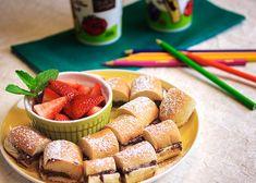 Hazelnut Chocolate Stuffed Breadsticks