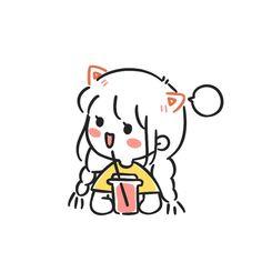 Cute Couple Cartoon, Cute Cartoon Characters, Cute Couple Art, Cartoon Art Styles, Kawaii Drawings, Cartoon Drawings, Easy Drawings, Kawaii Wallpaper, Wallpaper Iphone Cute