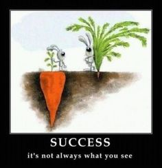 Success. It's not always what you see.