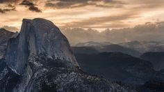 Morning Dome in Yosemite. http://www.visitcalifornia.com/destination/spotlight-yosemite-national-park