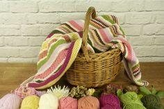Autumn Garden Blanket | The Knitting Network