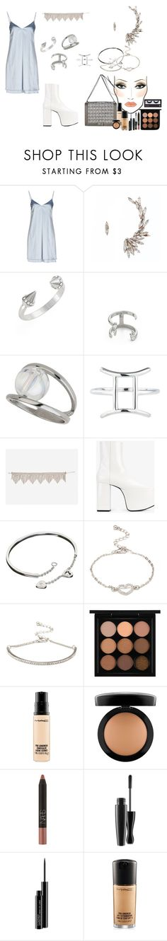 """""""happy may!!"""" by femalerebell ❤ liked on Polyvore featuring MAC Cosmetics, Carla G., Chanel, Vita Fede, Miss Selfridge, Rock 'N Rose, Jagger, Balenciaga, Cartier and Forever 21"""