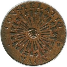 Colonial Coins | Colonials, 1783 COPPER Nova Constellatio Copper, Blunt Rays MS62 Brown ...