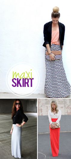 Finding the Perfect Maxi Skirt... {via My Daily Randomness}