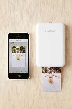 This adorable little printer that will provide you with instant Instagrams: