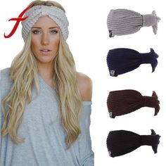 53424811c18538 Warm Winter Hat For Women Ladies Ponytail Baggy Beanie Women Stretch Cable  Wool #fashion #