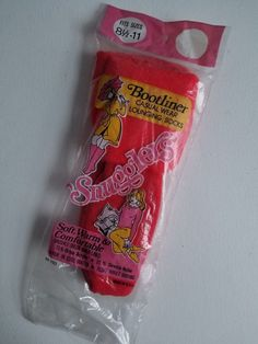 Vtg Snugglers Brushed Orlon Bootliner Booties Socks 8 1 2 -11 Red New Old 3767db4e29d6b