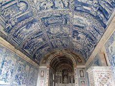 Interior da Capela da Peninha, Sintra