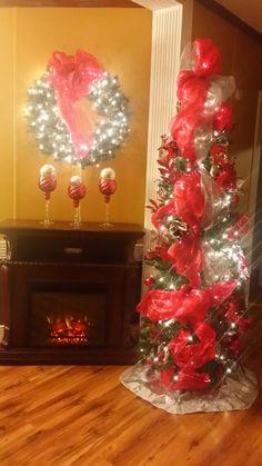 Red & Sliver Tree..