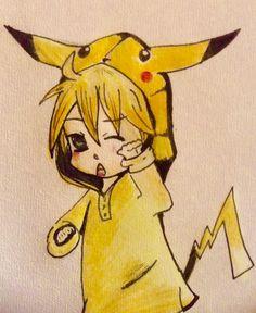 Chibi vocaloid Len :P