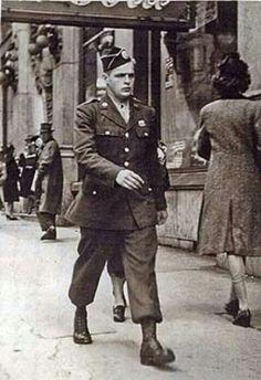 EZ Company's Don Marlarky in Atlanta 1943