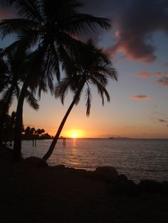 The most amazing sunsets can be found in Nadi, Fiji ~2007