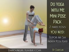 DarksunGirl's DO YOGA WITH ME Mini Pose Pack