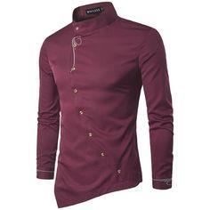 Compre 2017 Camisas Flores Mens Slim Fit Camisas De Vestido Dos Homens Do Vestido Extravagante Camisa Flores Hombre Clube Outfits Social Slim Fit
