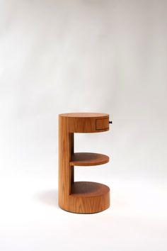 N˚ 141 – RUEMMLER Furniture Oak Nightstand, Nightstands, Floating Shelves, Drawer, Tables, Sleep, Furniture, Home Decor, Mesas