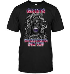 Giants We're coming for you My Giants, New York Giants, Sports Shops, Fan Gear, Sport Outfits, Mens Tops, Shirts, Stuff To Buy, Shopping