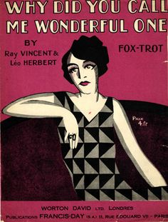 Why Did You Call Me Wonderful One ?, s.d. (ill.: Fabien Loris); ref. 3670