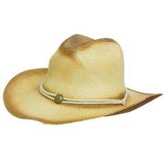 #Promotional Sprayed Cowboy Straw #hat