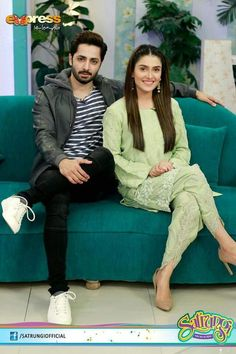 Ayeza khan and Danish Taimoor Satrangi-Express Entertainment Pakistani Wedding Outfits, Pakistani Bridal, Pakistani Dresses, Aishwarya Rai Cannes, Kurti With Jeans, Ayeza Khan, Mahira Khan, Famous Couples, Indian Designer Outfits