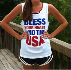 Bless your heart and the USA- The Girls in Pink can do this