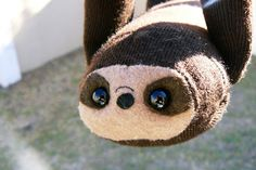 So cute.....sloth plush toy