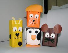 Reciclagem e Sucata: caixa de leite