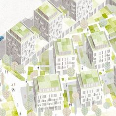 urban planning drawing Landscape Architecture - Urban planning drawing The Effective Pictures We Off Landscape Architecture Drawing, Architecture Graphics, Architecture Visualization, Green Architecture, Landscape Design, Masterplan Architecture, Residential Architecture, Architecture Design, Planning Maps