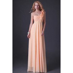 AFFORDABLE collection peach lace up back one shoulder cocktale evening dress ! Ball Dresses, Evening Dresses, Prom Dresses, Formal Dresses, One Shoulder, Peach, Lace Up, Collection, Fashion