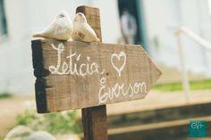 Mini Wedding Rústico da Letícia e do Everson | Blog de Casamento DIY da Maria Fernanda