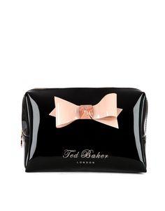 Ted Baker Contrast Bow Makeup bag