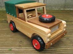 A Toy Land Rover