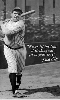 """George Herman """"Babe"""" Ruth, Jr. (February 6, 1895 – August 16, 1948), nicknamed """"the Bambino"""" and """"the Sultan of Swat"""", was an American baseball outfielder and pitcher who played 22 seasons in Major League Baseball (MLB), from 1914 to 1935. Beginning his career as a stellar left-handed pitcher for the Boston Red Sox, Ruth achieved his greatest fame as a slugging outfielder for the New York Yankees. He established many MLB batting (and some pitching) records, including career home runs (714)…"""